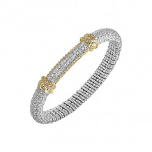 Alwand Vahan 14k Yellow Gold & Sterling Silver Pave Bracelet - 21513