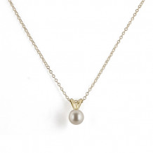 Honora 14k Yellow Gold Freshwater Cultured Pearl Pendant - L4365-5FW