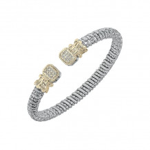 Alwand Vahan 14k Yellow Gold & Sterling Silver Diamond Bracelet - 21626