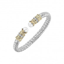 Alwand Vahan 14k Yellow Gold & Sterling Silver White Pearl Bracelet - 20833WPD