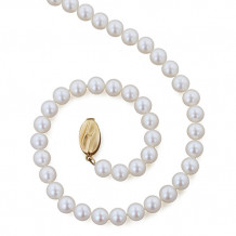 Honora 14k Yellow Gold Fresh Water Cultured Pearl Necklace - A+6+18