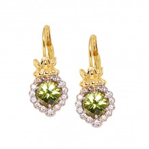 Alwand Vahan 14k Yellow Gold & Sterling Silver Peridot Earrings - 42746PD