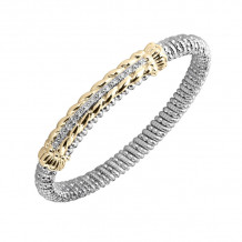 Alwand Vahan 14k Yellow Gold & Sterling Diamond Bracelet - 22366D06