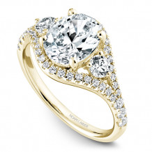 Noam Carver 14k Yellow Gold Modern Diamond Engagement Ring - B212-01YM