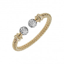 Alwand Vahan 14k Yellow Gold Diamond Bracelet - 21678GDW