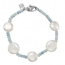 Honora Sterling Silver Solstice Bracelet - SB1273SAQ75