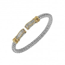 Alwand Vahan 14k Yellow Gold & Sterling Silver Diamond Bracelet - 21887