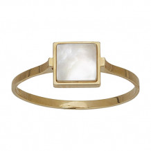 Honora 14k Yellow Gold Mother of Pearl Ring - FR0346YWH7