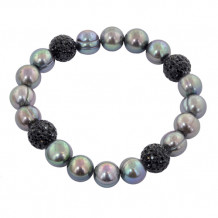 Honora Sterling Silver Freshwater Cultured Pearl Bracelet - LB5672BL