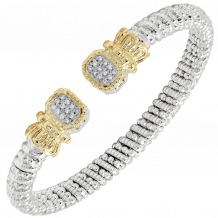 Alwand Vahan 14k Yellow Gold & Sterling Silver Diamond Bracelet - 21626D8
