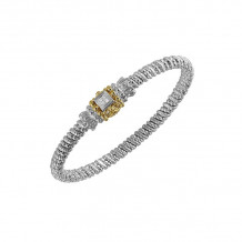 Alwand Vahan 14k Yellow Gold & Sterling Silver Diamond Bracelet - 21881