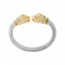 Alwand Vahan 14k Yellow Gold & Sterling Silver Diamond Bracelet - 22575D08