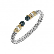 Alwand Vahan 14k Yellow Gold & Sterling Silver Onyx Bracelet - 20833